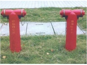 消防水泵接合器安装